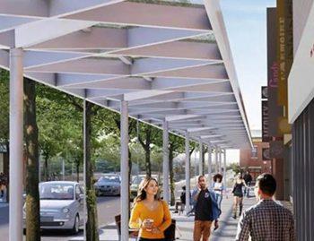 Projet de réaménagement de la Plaza St-Hubert (Ville de Montréal) - Intervia